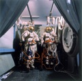 Jane and Louise Wilson, Cosmonaut Suits Mir, 2000