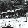 Gutai, Yoshihara Jiro, Défi au soleil du plein été, 1955